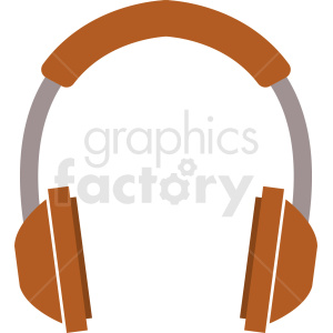 headphone vector icon clipart. Commercial use image # 408698