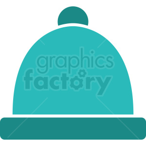 ocean blue winter hat icon clipart. Commercial use icon # 408733