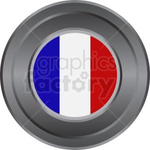 france flag symbol emblem clipart. Royalty-free image # 408783
