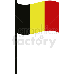 belgium flag no background icon clipart. Royalty-free image # 408818