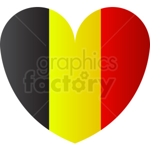 belgium flag love clipart. Royalty-free image # 408836