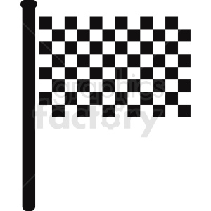 checkered flag design clipart. Royalty-free image # 408871