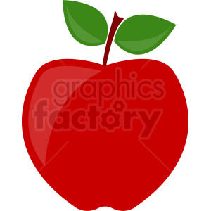 cartoon apple clipart. Commercial use image # 408888