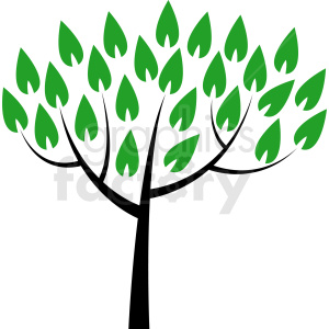 vector tree no background clipart. Commercial use image # 408901