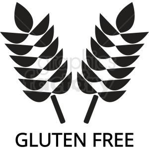 gluten free icon no background