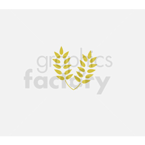 wheat vector icon clipart. Royalty-free image # 408926