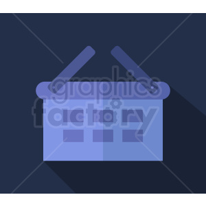 shopping basket icon design on dark background clipart. Royalty-free image # 408961