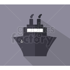 ship icon design on square background clipart. Commercial use image # 408986