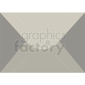 gray vector envelope icon clipart. Royalty-free icon # 409044
