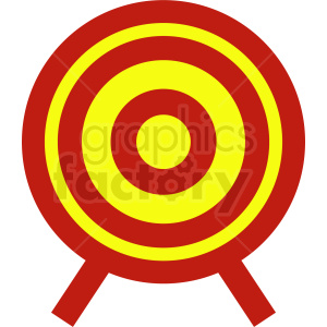 vector target icon clipart. Commercial use image # 409086