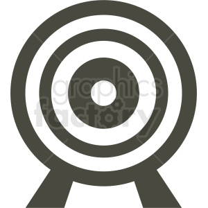black target icon clipart. Commercial use image # 409106