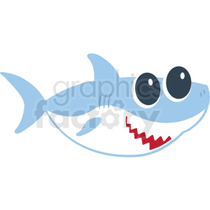baby shark cut file clipart. Commercial use image # 409224