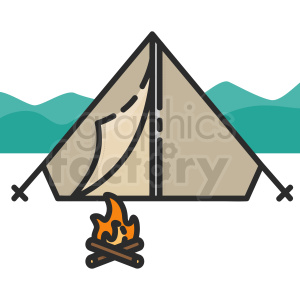 tent clipart clipart. Commercial use icon # 409391