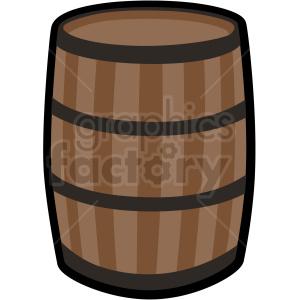 barrel vector clipart no background clipart. Commercial use image # 409401