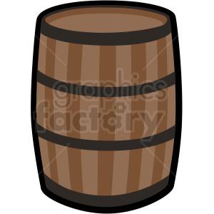 barrel vector clipart no background