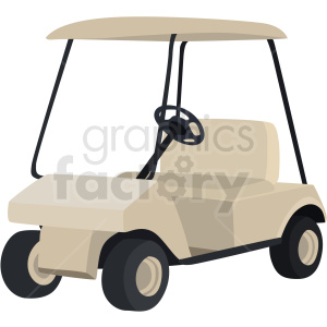golf cart vector clipart clipart. Royalty-free image # 409502
