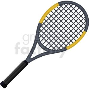 tennis racket vector clipart