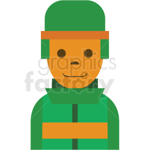 game soldier character clipart icon clipart. Royalty-free image # 409847
