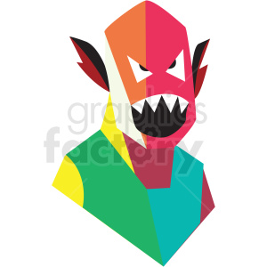 monster game vector icon clipart