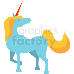 unicorn game character vector icon clipart clipart. Royalty-free image # 409878