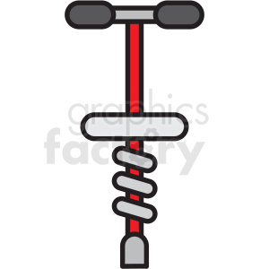 pogo stick clipart icon clipart. Commercial use image # 409924