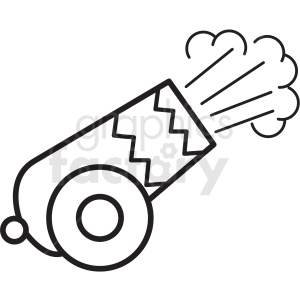 circus cannon shooting icon clipart. Commercial use image # 409927