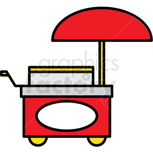 food cart icon clipart. Commercial use image # 409943
