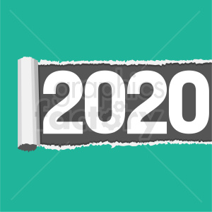 2020 rolled out clipart clipart. Royalty-free image # 410037