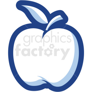 apple vector icon no background clipart. Royalty-free image # 410183