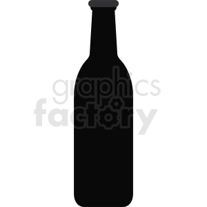 bottle silhouette clipart clipart. Royalty-free image # 410333