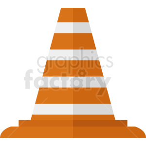 construction zone cone clipart. Royalty-free icon # 410349