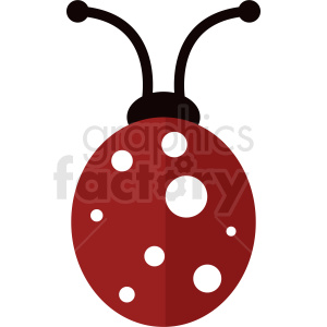 vector ladybug clipart no background clipart. Commercial use image # 410479