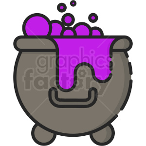 potion cauldron clipart. Royalty-free image # 410521
