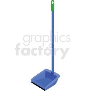 dust pan with handle vector clipart clipart. Commercial use image # 410546