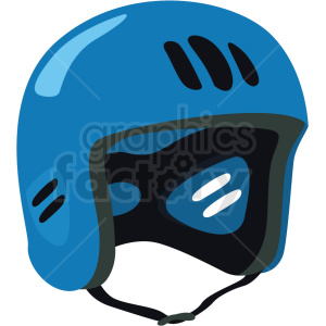water rafting helmet vector clipart clipart. Royalty-free image # 410606