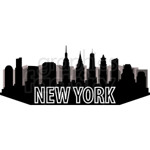 New York city design clipart. Commercial use image # 410720