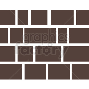 brick wall vector clipart. Royalty-free image # 410735