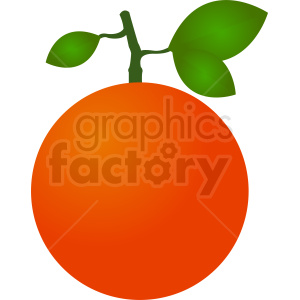 orange design clipart. Royalty-free image # 410785