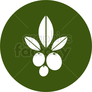 olive vector design clipart. Royalty-free image # 410795