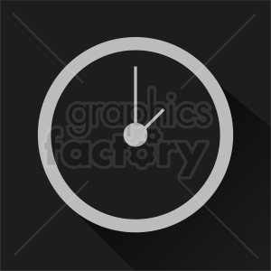 clock clipart design on square background clipart. Commercial use image # 410811