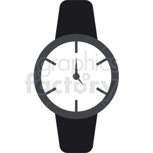 vector watch icon clipart clipart. Commercial use image # 410826