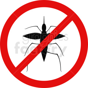 no insects vector icon