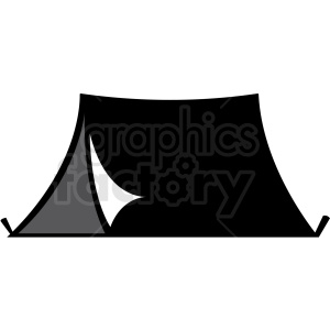 camping tent clipart. Commercial use image # 411131