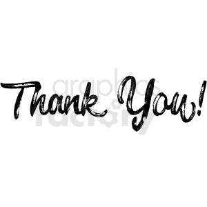 thank you distressed vector clipart clipart. Commercial use image # 411164