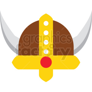 cartoon viking hat vector clipart clipart. Commercial use image # 411679