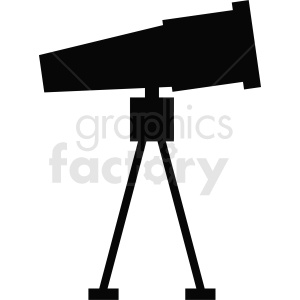 telescope vector clipart clipart. Royalty-free image # 411830