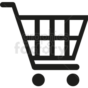 shopping cart vector icon design clipart. Royalty-free image # 411867