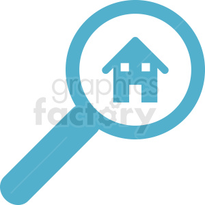 realestate searching vector clipart clipart. Commercial use image # 411900