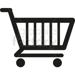 shopping cart vector clipart clipart. Royalty-free image # 411976