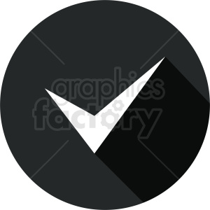 black checkmark icon clipart. Commercial use image # 412087